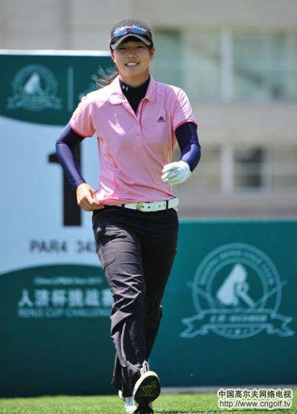 首届中国业余高尔夫球冠军赛鸣锣开战