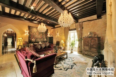 宫殿豪宅内部豪华大厅图片