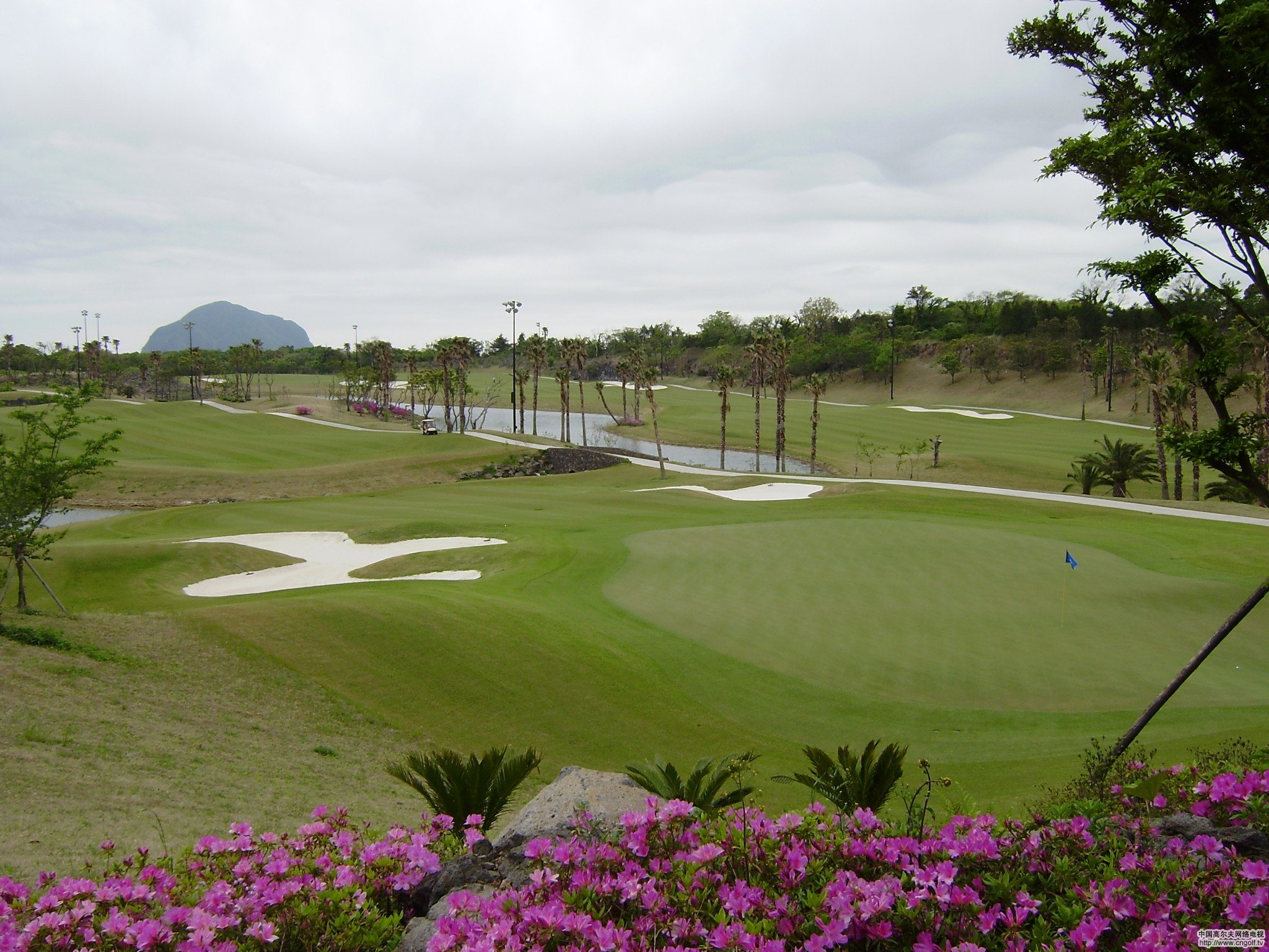 济州岛高尔夫超值体验4天3晚3场球